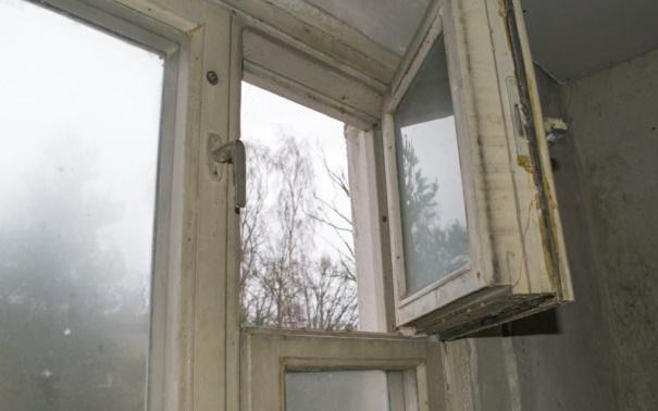 Старая рама в холодной квартире