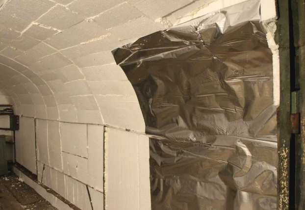 Защита пенопласта при утеплении гаража