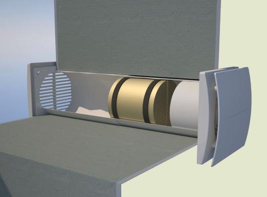 Клапаны для притока воздуха