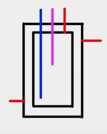 схема бойлера бак в баке